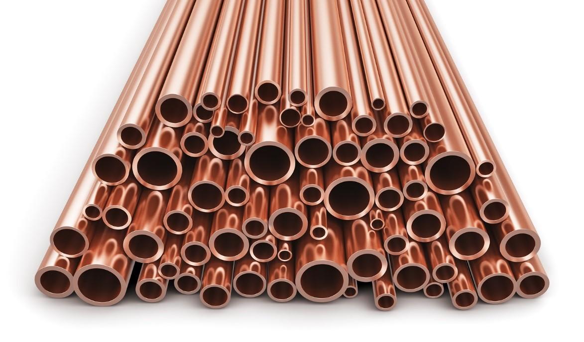 bronze copper or brass tube