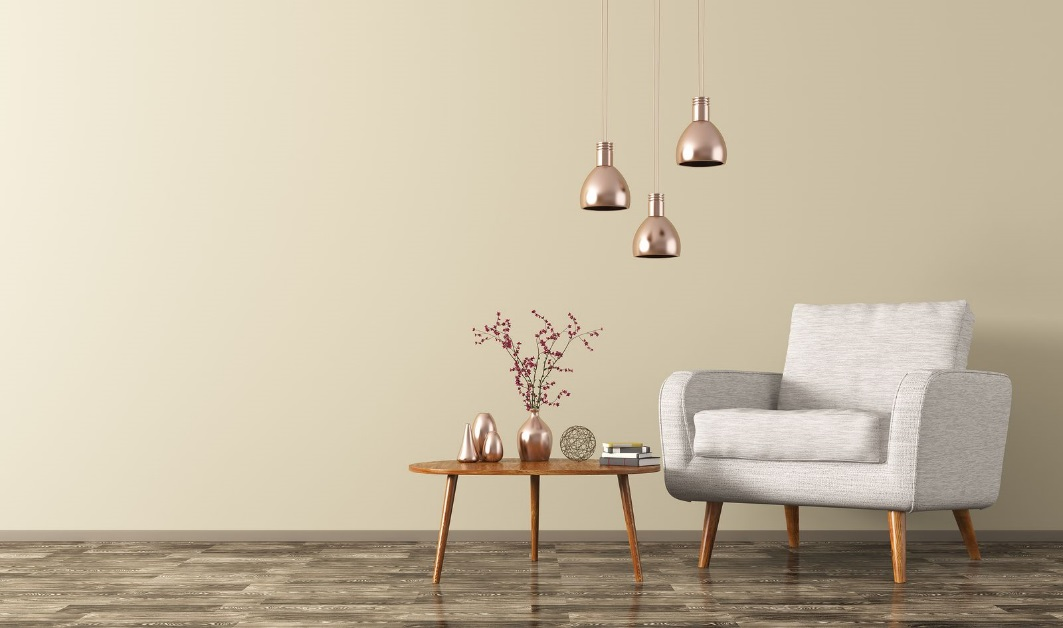 Freshen Up an Old Home Using Furniture and Lighting With Brass Tube