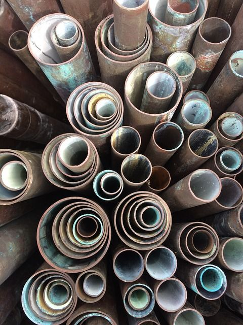 Recycling Copper Pipes Helps Make Copper and Brass Sales Sustainable